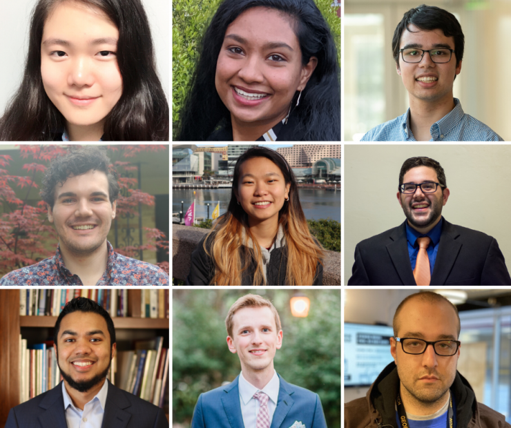 ECE recipients of NSF Graduate Research Fellowships and Honorable Mentions
