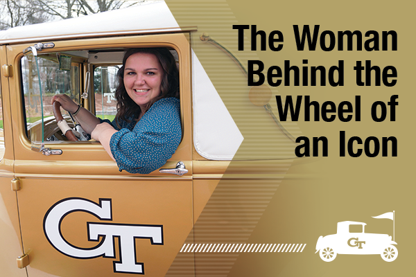 The Woman Behind the Wheel of an Icon