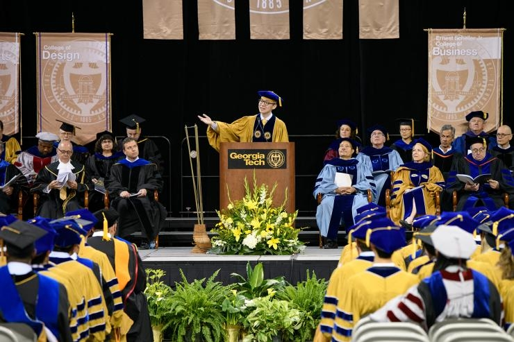 Ph.D. Commencement, Spring 2018