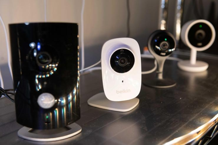Internet-connected cameras