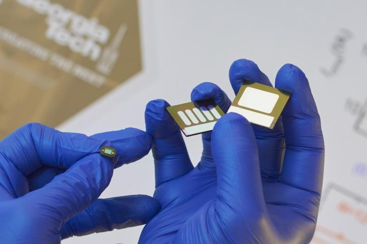 Organic photodiodes versus silicon